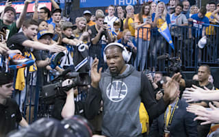 Durant on Thunder boos: I thought they'd be louder