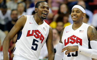 Durant Anthony headline USA roster for Rio Olympics