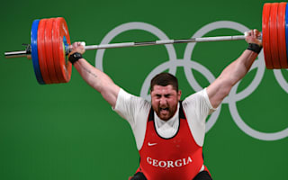 Rio 2016: Talakhadze takes gold with world-record lift