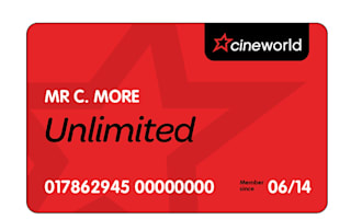 Win! A Cineworld Unlimited Card for a year's worth of free trips to the cinema