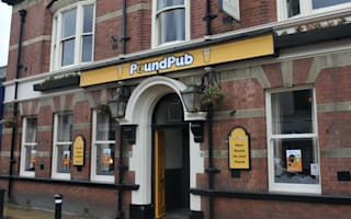 Bargain booze! Manchester opens first 'Pound Pub'