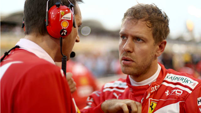 Vettel revving up with revived Ferrari