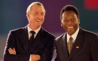 Pele hails late friend Cruyff