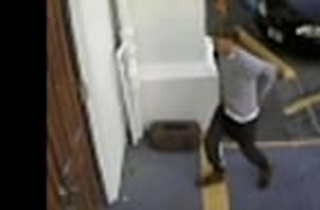 Video Shows Charleston Suspect at Church