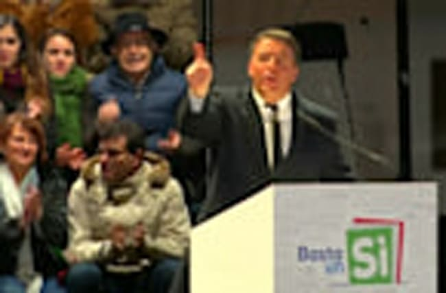 Renzi's final appeal
