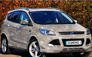 Ford dealer makes diamond-encrusted 4x4 - yours for £1 million