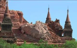 Myanmar earthquake devastates ancient temples