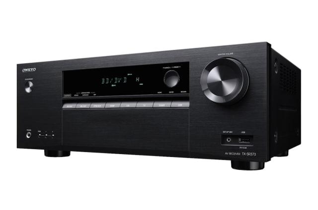 El Onkyo TX-SR373 es el amplificador perfecto para los que empiecen con el Home Cinema