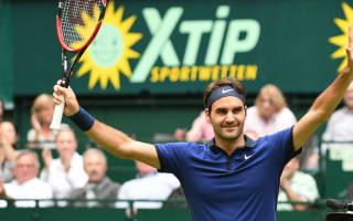 Federer avoids upset in Halle, Goffin gets lucky