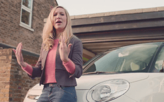 VIDEO: Fiat-driving rapping mum goes viral