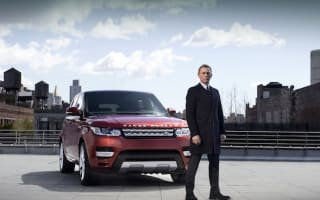007 shuts New York to unveil new Range Rover Sport