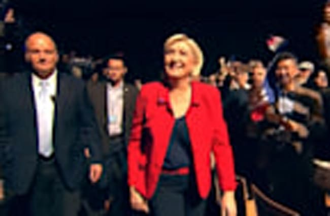 Le Pen's replacement turns down party role amid Holocaust controversy