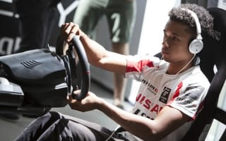 Meet the bedroom gamer turned racing driver
