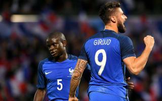 Switzerland v France: Kante wants more 'beautiful' moments as Mehmedi eyes revenge