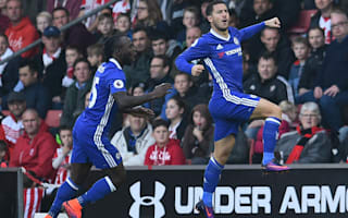 Southampton 0 Chelsea 2: Hazard and Costa keep Conte's side rolling