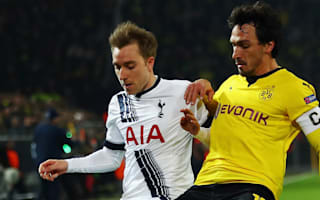 Eriksen: We gave Dortmund too much space
