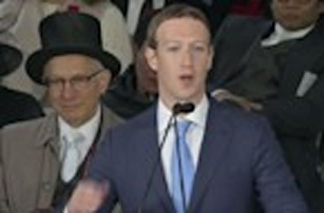 Zuckerberg talks 'purpose' to Harvard grads