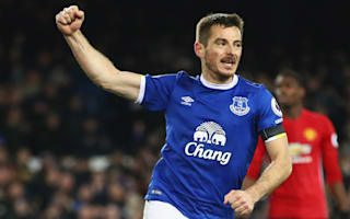Everton 1 Manchester United 1: Late Baines penalty denies Mourinho