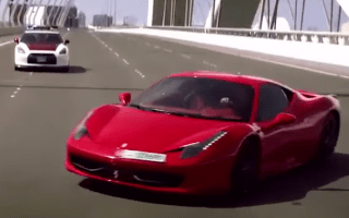 Abu Dhabi police show off patrol cars with dramatic film