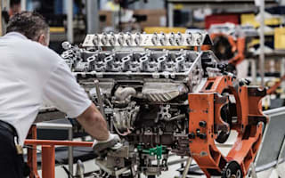 Aston Martin DB11 engine building process revealed