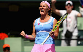Kuznetsova overcomes Bacsinszky to reach Miami final