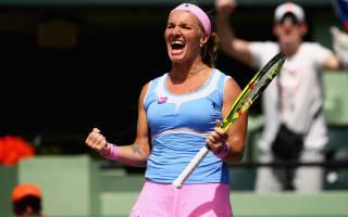 Kuznetsova overcomes Bacsinszky to reach Miami final