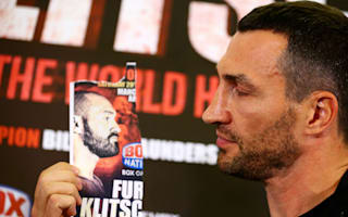 Fury a no-show for Klitschko conference after car breaks down