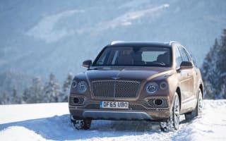 New Bentley Bentayga revealed in Austrian Alps