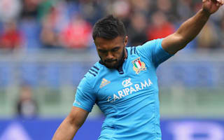 Haimona replaces injured Canna as Italy change four
