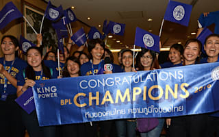 Leicester arrive in Thailand to heroes welcome