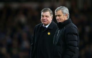 It would happen abroad - Allardyce backs Mourinho's Premier League gripe