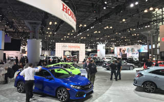 The stars of the New York Motor Show