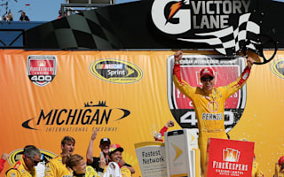 Joey Logano dominates, punches ticket to Chase