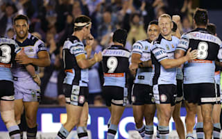 Sharks claim record 12th consecutive win, Warriors beat Titans