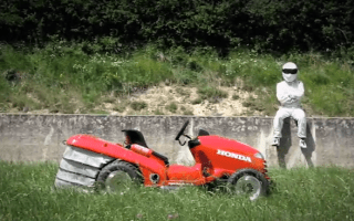 Video: Top Gear Magazine creates 130mph lawnmower