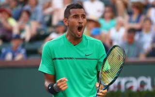 Kyrgios dethrones Djokovic at Indian Wells