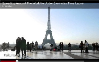 Round the world in five minutes: Check out this video!