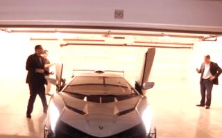 Customer takes delivery of ultra-rare Lamborghini Veneno