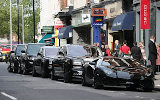 Ecclestone's son in law takes five-car entourage to purchase art