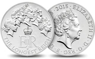 Royal Mint releases £20 coin to celebrate Queen's reign