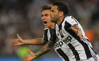 Juventus 2 Lazio 0: Alves, Bonucci secure historic third consecutive Coppa Italia