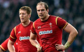 Wales lock Alun Wyn Jones facing six weeks out