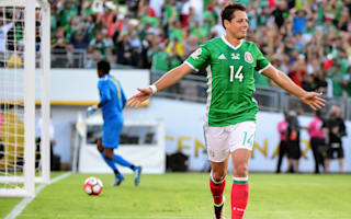 Mexico 2 Jamaica 0: Hernandez and Co. reach quarters as Uruguay bow out