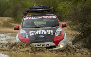 Electric Nissan Leaf to take on 10,000-mile Mongol Rally