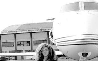 Beyonce shares photos of her jet-setting lifestyle