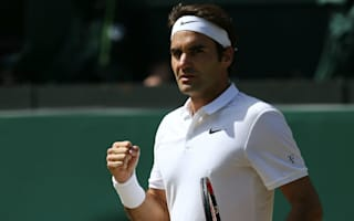 Federer 'completely on track' in knee rehab