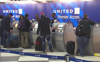 United Airlines flight in emergency landing after engine 'overheats'