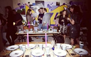 'Derelict' flat is latest weird fine dining experience