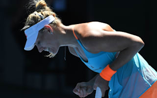 Birthday girl Kerber seeking improvement