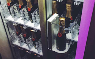 You can now buy Moët from a vending machine